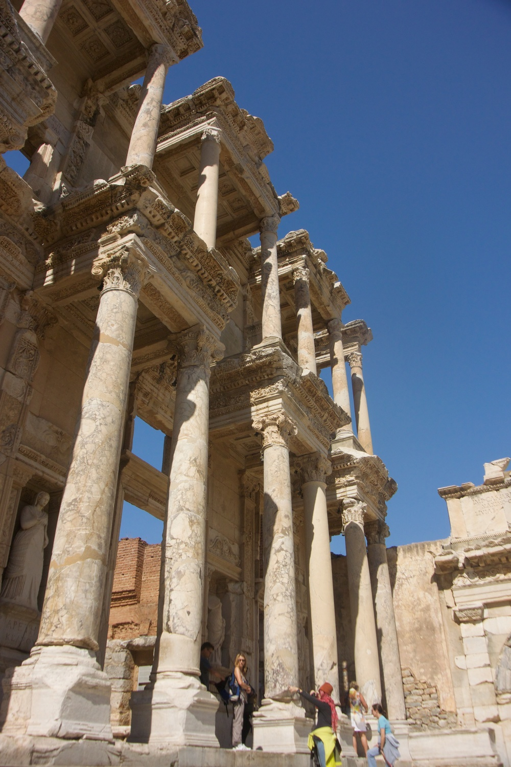 Celsus Library facade
