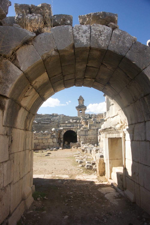 Lycian Ruins @ Xanthos, Letoon & Patara