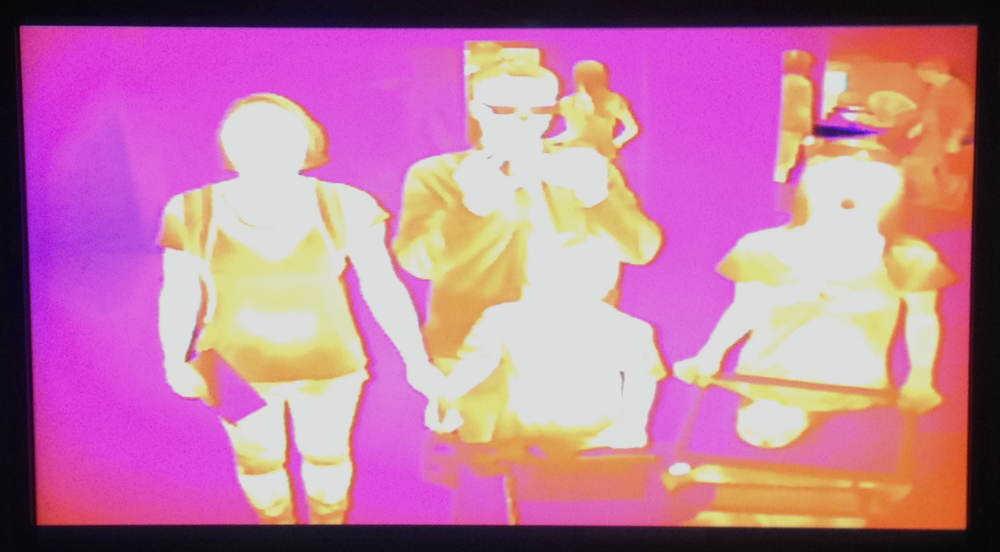 Us in the infrared spectrum