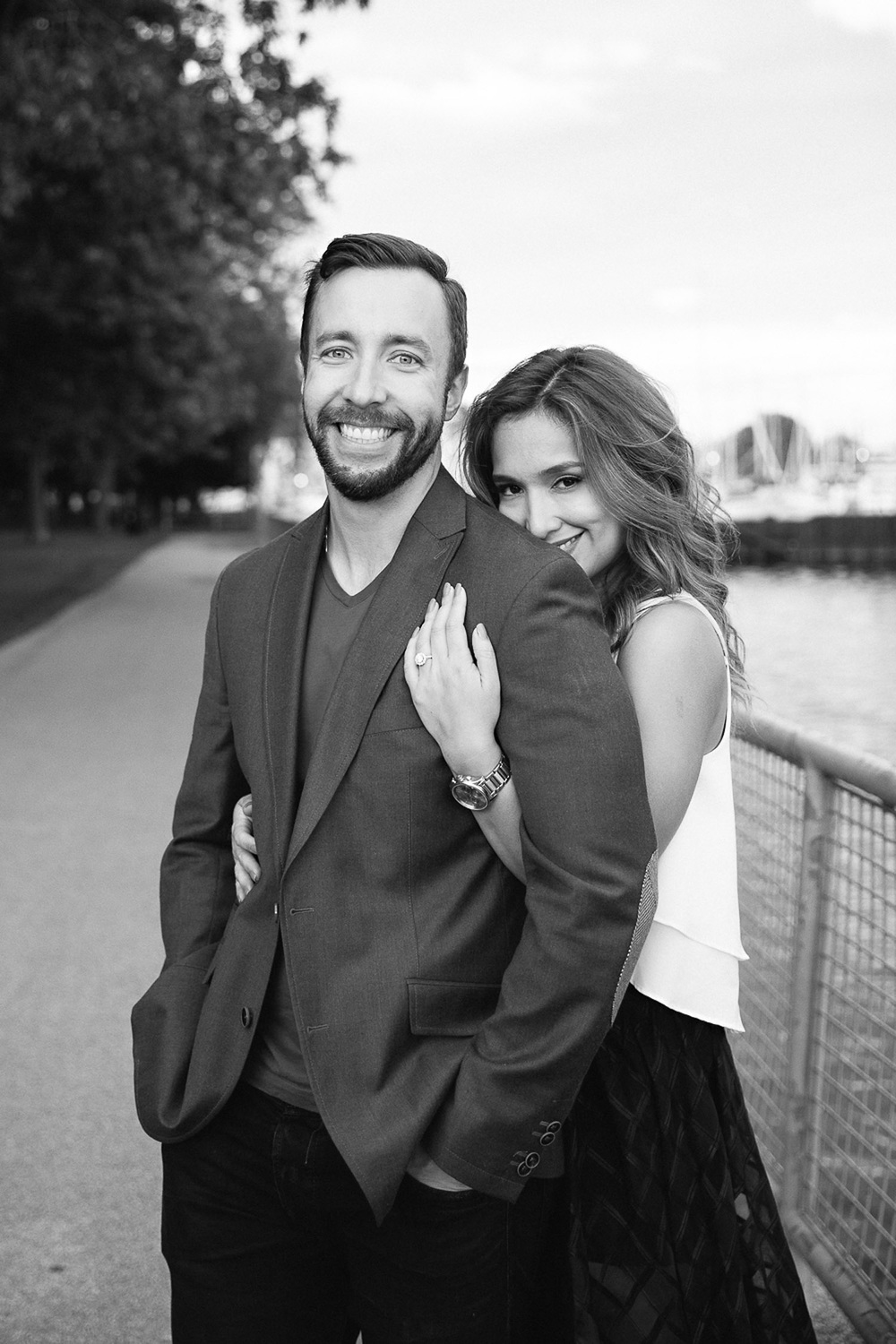 Toronto Engagement Photography by Frances Beatty