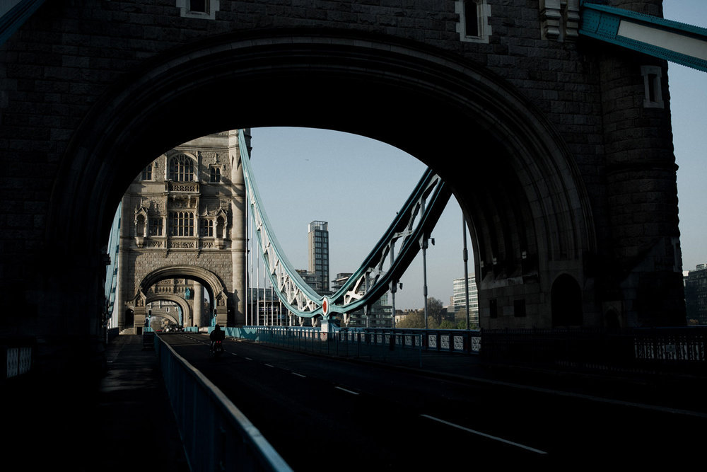 Tower Bridge in London England