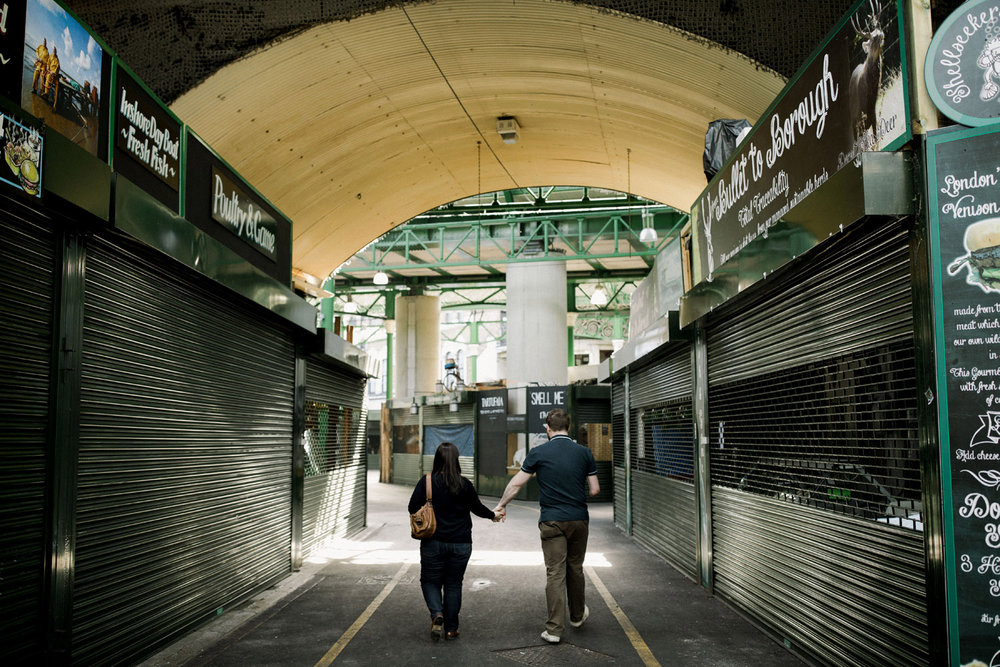 Engagement session in Borough Market