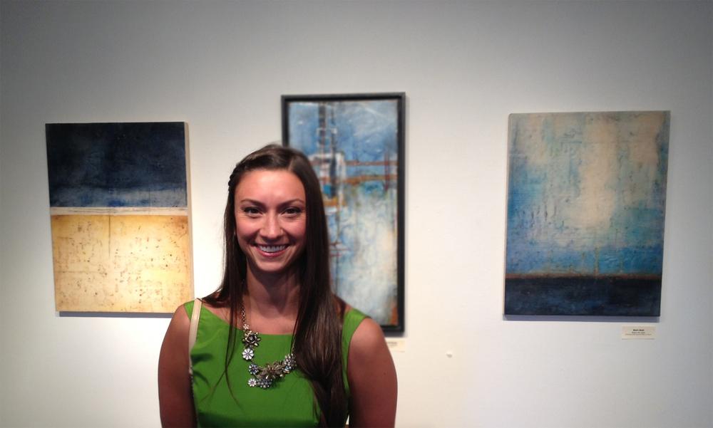 Opening Reception At Morpho Gallery Kari Hall