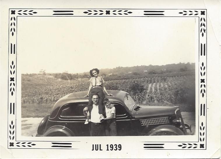 My Great-Grandfather Pasquale, Grandma Rose and Uncle Dominic Bottari