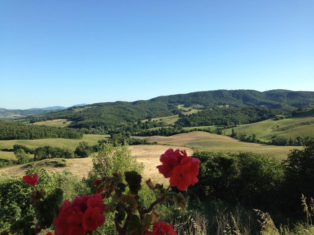 TUSCANY, ITALY - July 2013