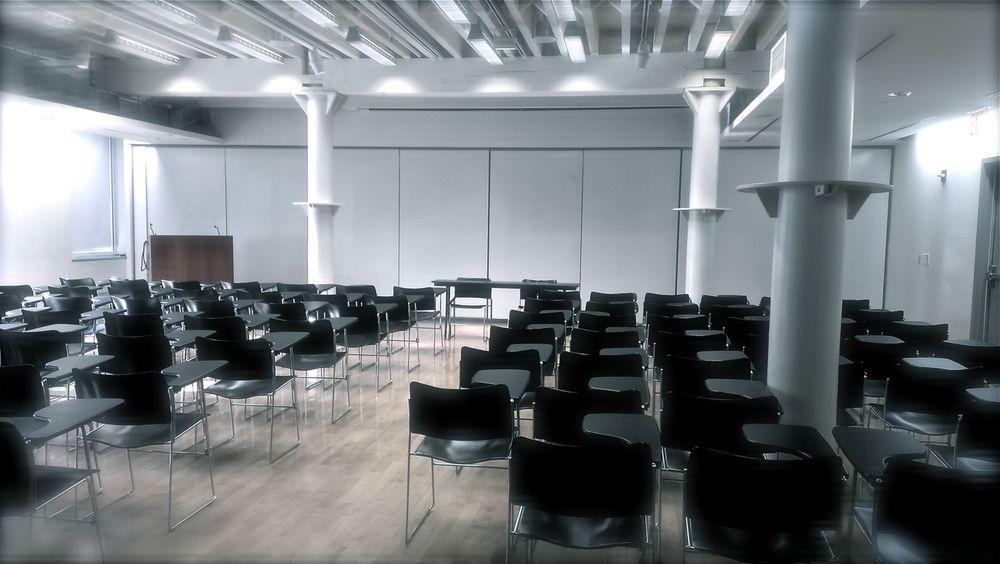 Pratt Institute Manhattan conference space. The official location for certifyD, the design certification dialogue event.