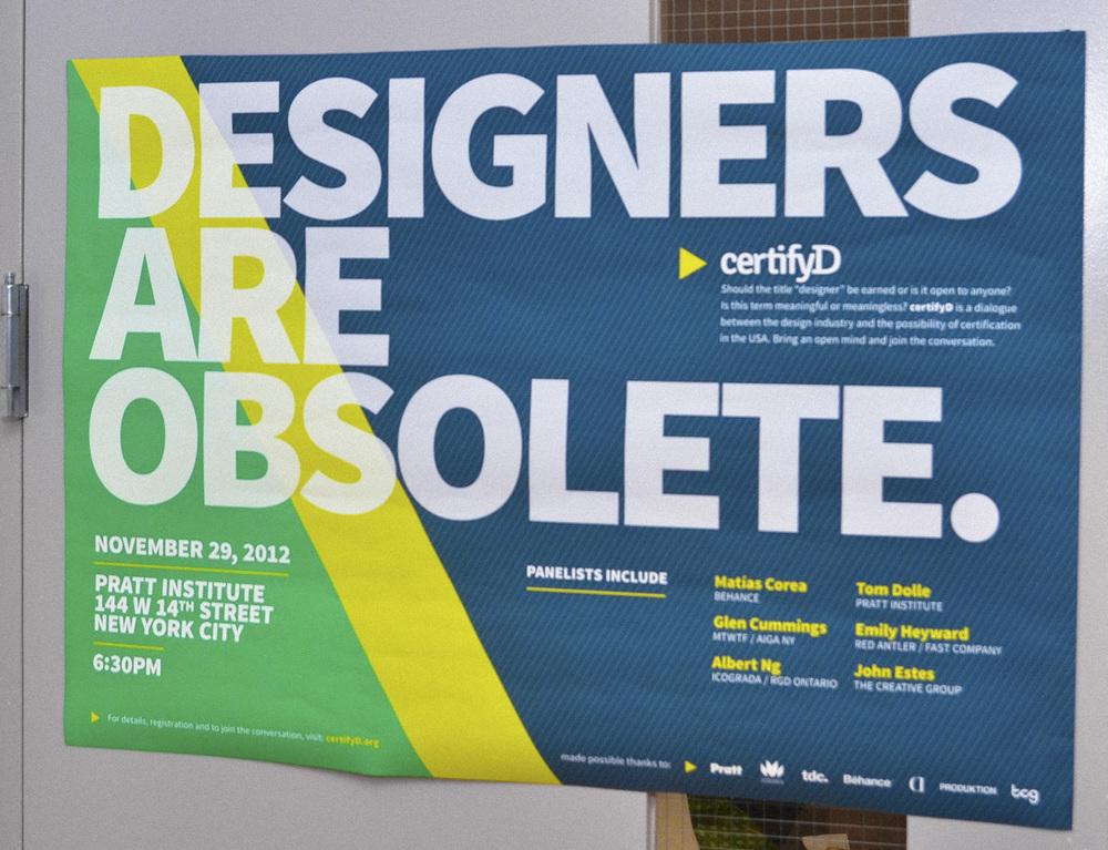 certifyD poster