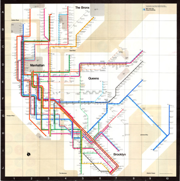 Metro maps of the world
