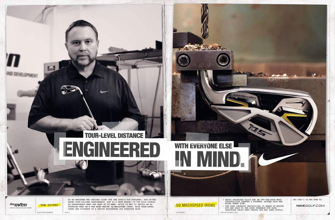 Nike Golf ads