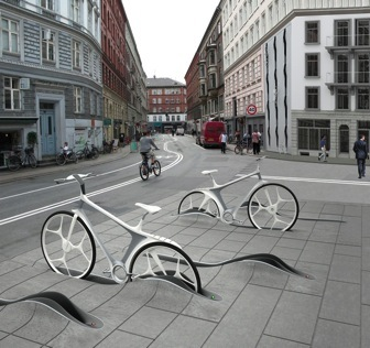 New bike sharing system