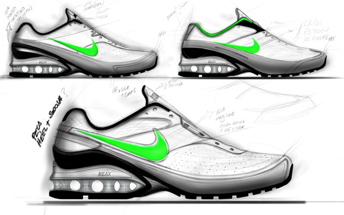 Beautiful shoe renderings