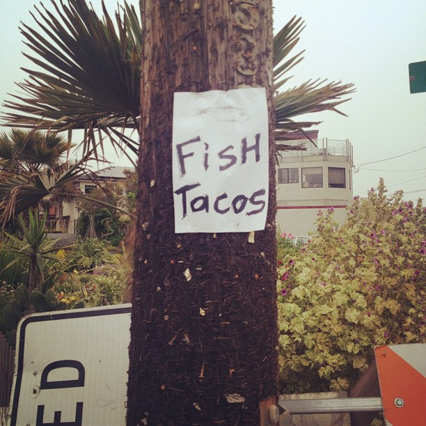 Fish Tacos - What more could you want?