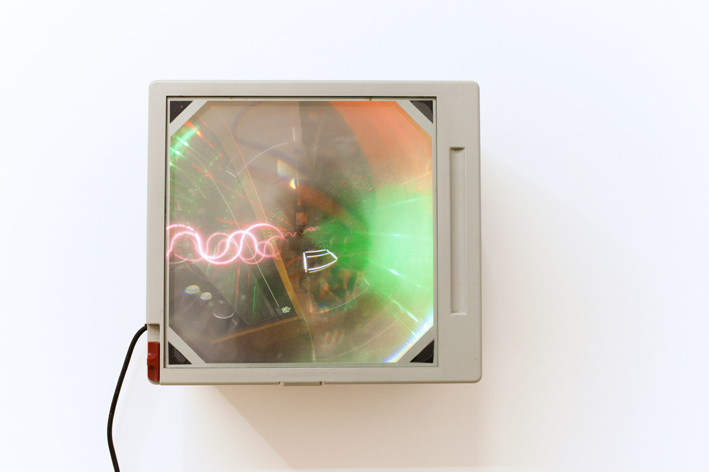 Haroon Mirza,  Radio Shacked Up , 2012