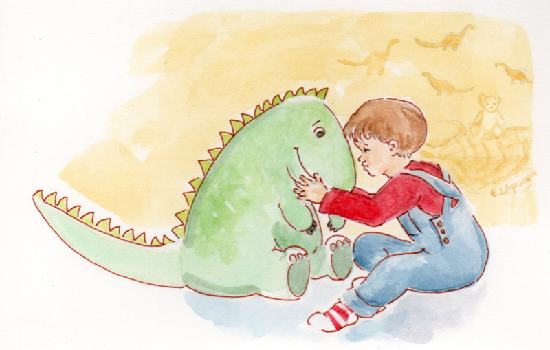 A prehistoric best friend