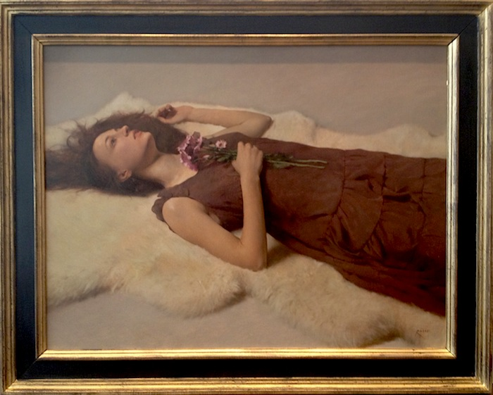 Carlo Russo, 'Dreams of Ophelia', 22 x 29, Oil on Linen.
