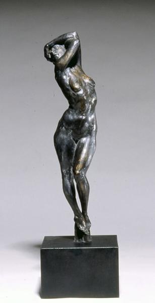 'Delude' (9/10 Edition), 19 x 4 x 5, Bronze, SOLD