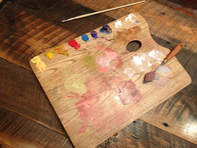 Jeremy Durling's palette