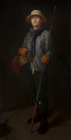 Kelly Carmody, 'The Fisherman', 68 x 35, Oil on Canvas