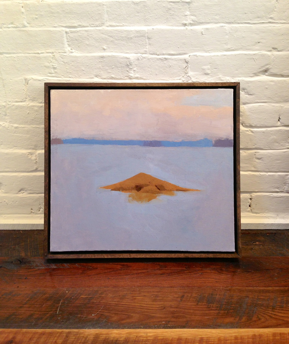 'Deer Isle, Archipelago' Framed