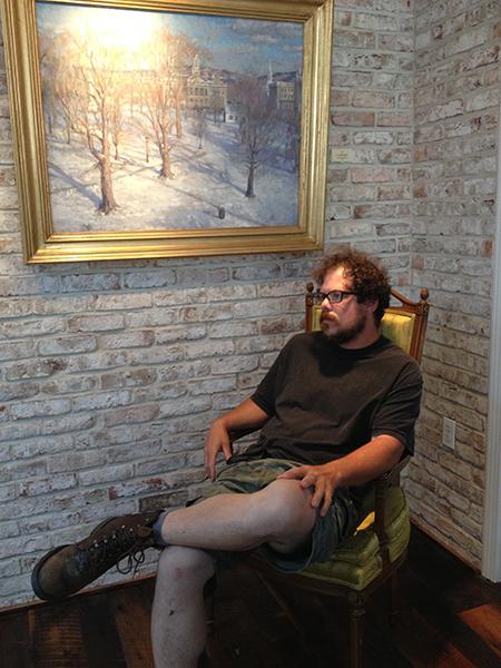 Special guest -- artist Ben Fenske