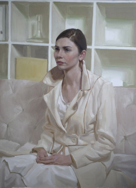 Mary Sauer, 'Anna', 40 x 30, Oil on Canvas, 2012