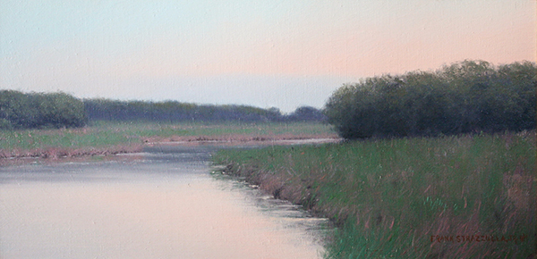 Frank Strazzulla, 'Early in the Season', 10 x 20, Oil on Linen on Panel, $6,200.