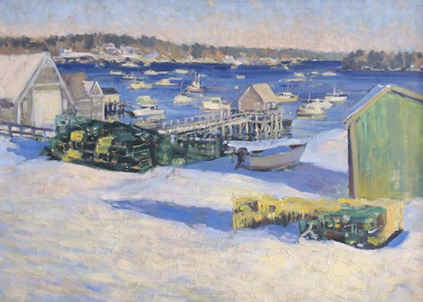 Greg Horwitch, 'Friendship Harbor', 20 X 28, Oil on Linen