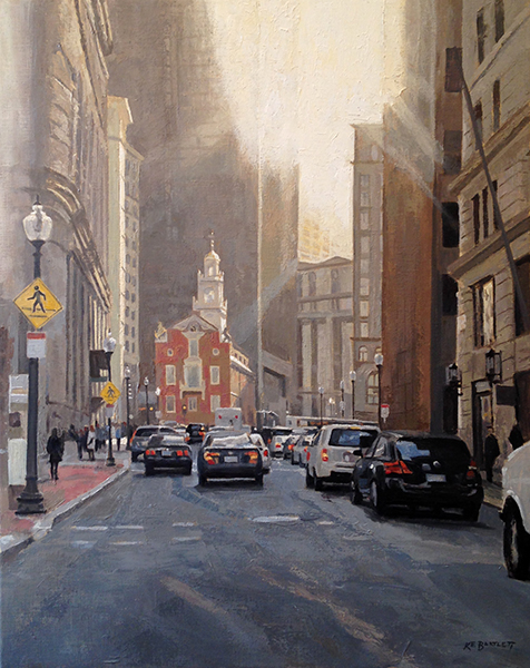 'Old State House', 30 x 24, Oil on Linen, SOLD