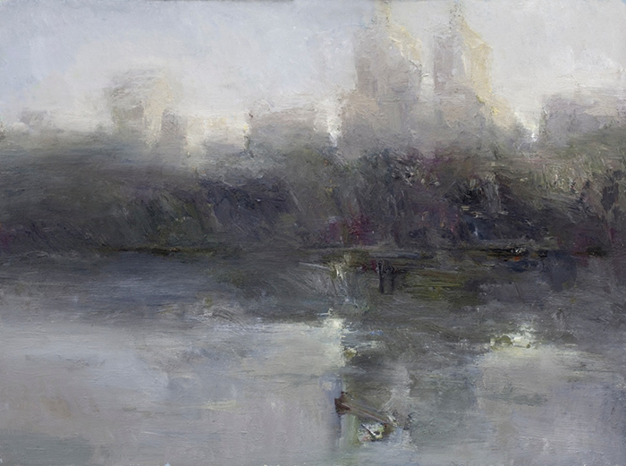 'Central Park', 24 x 32, Oil on Panel, SOLD