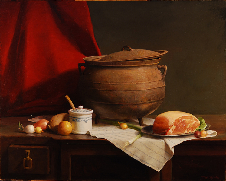 'The Iron Cauldron', 24 x 30, Oil on Linen, SMG ID #825