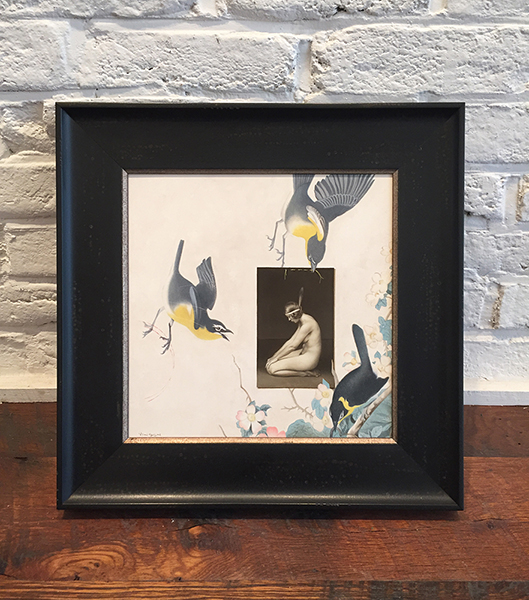 'Warpaint' Framed, SOLD