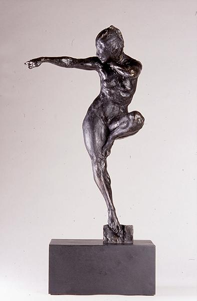 'Archer Attend' (Edition 10/12), 20 x 12 x 6, Bronze, SMG ID #1093