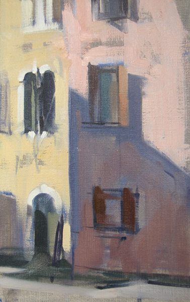 'Six Windows', 14 x 9, Oil on Linen, SMG ID #1251