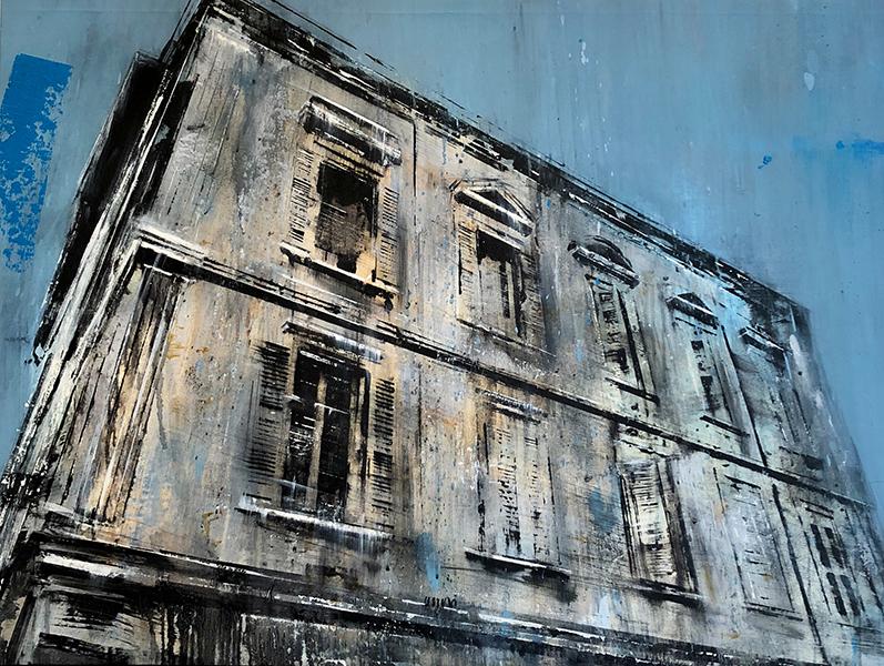 'Il Palazzo del Re', 36 x 48, Oil on Canvas, SMG ID #