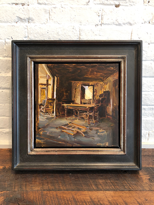 'Bodie Interior' Framed, SOLD