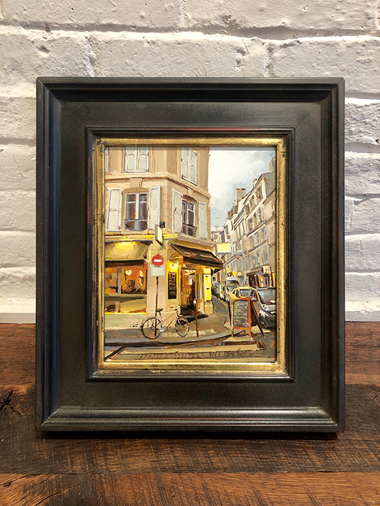 'Parisian Street' Framed