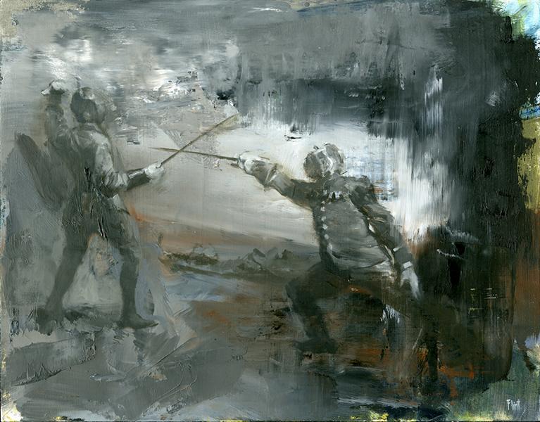 'Moon Shadow', 11 x 14, Oil on Panel, SMG ID #