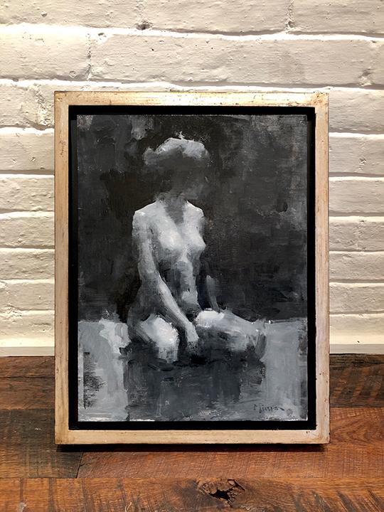 'Undecided' Framed