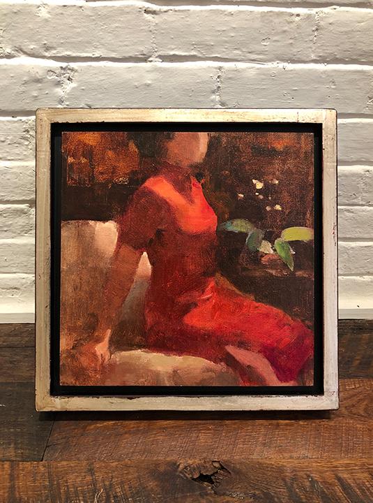 'Wallflower' Framed