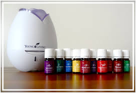 Essential oil diffuser and a variety of oils