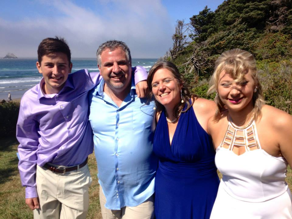 Clan grant! (Thomas, Stephen, Paula, Maggie) - shot at our wedding Sept 2014