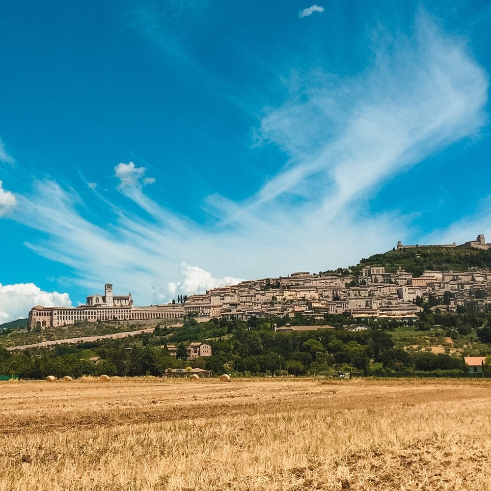 assisi+city+on+a+hill