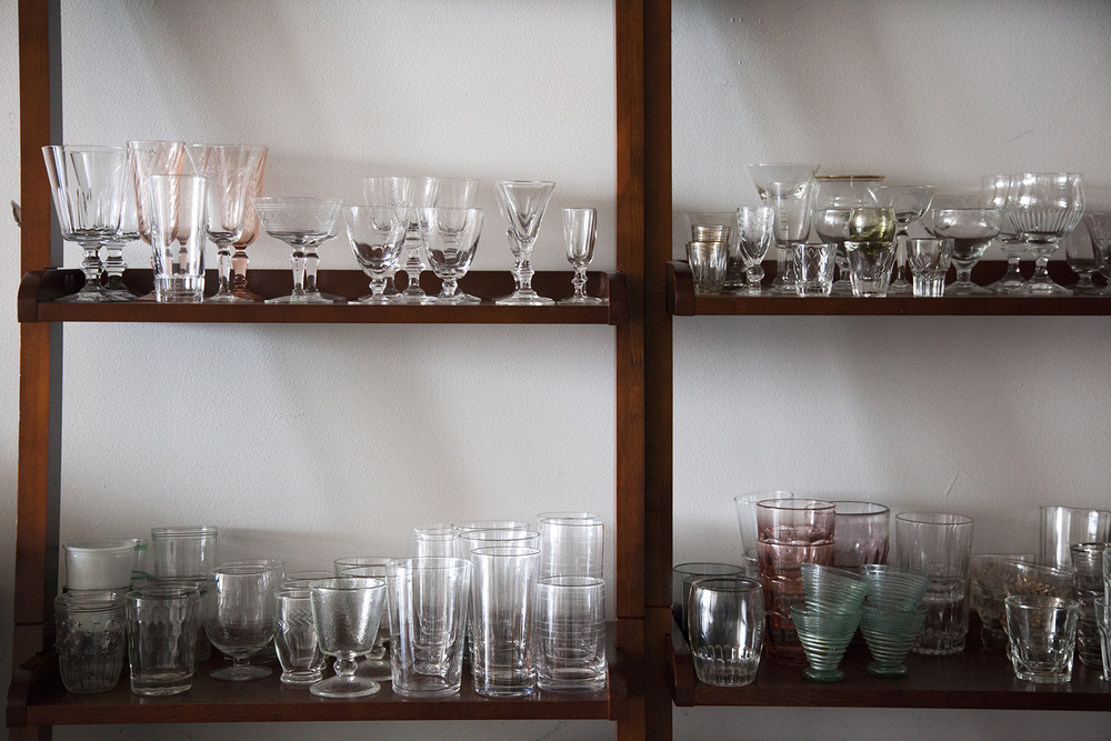 A selection of my favorite glassware.