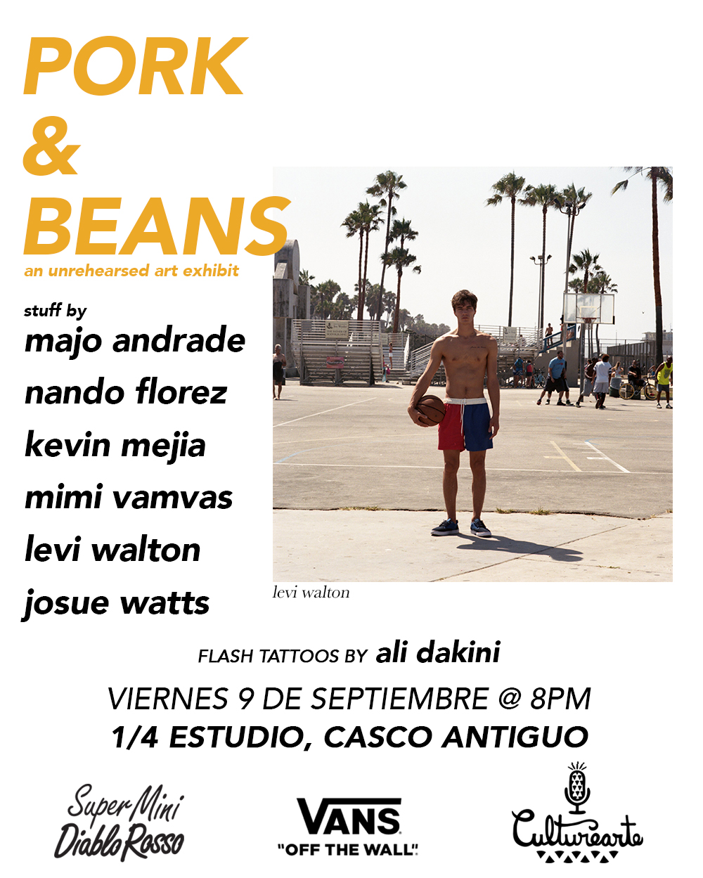 PORK & BEANS: Group show in Panama City, Panama