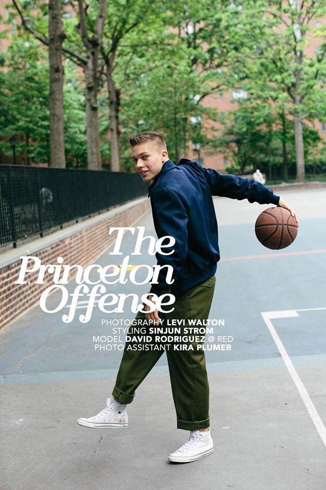 The Princeton Offense, editorial shot for  SUSPEND Magazine