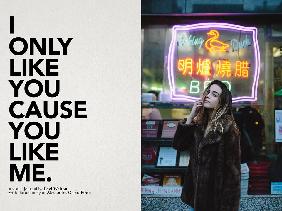 I Only Like You Cause You Like Me: Editorial shot for  SUSPEND Magazine