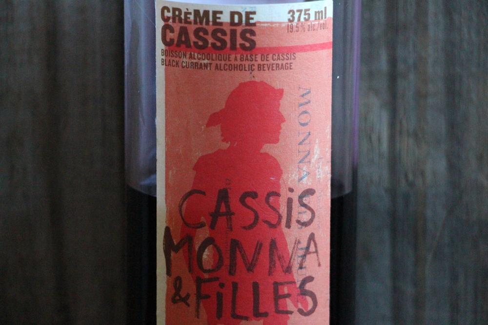crème de cassis Monna et filles