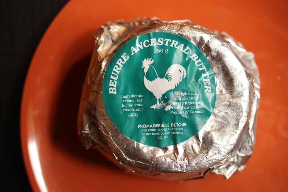 beurre ancestral fromagerie le Détour