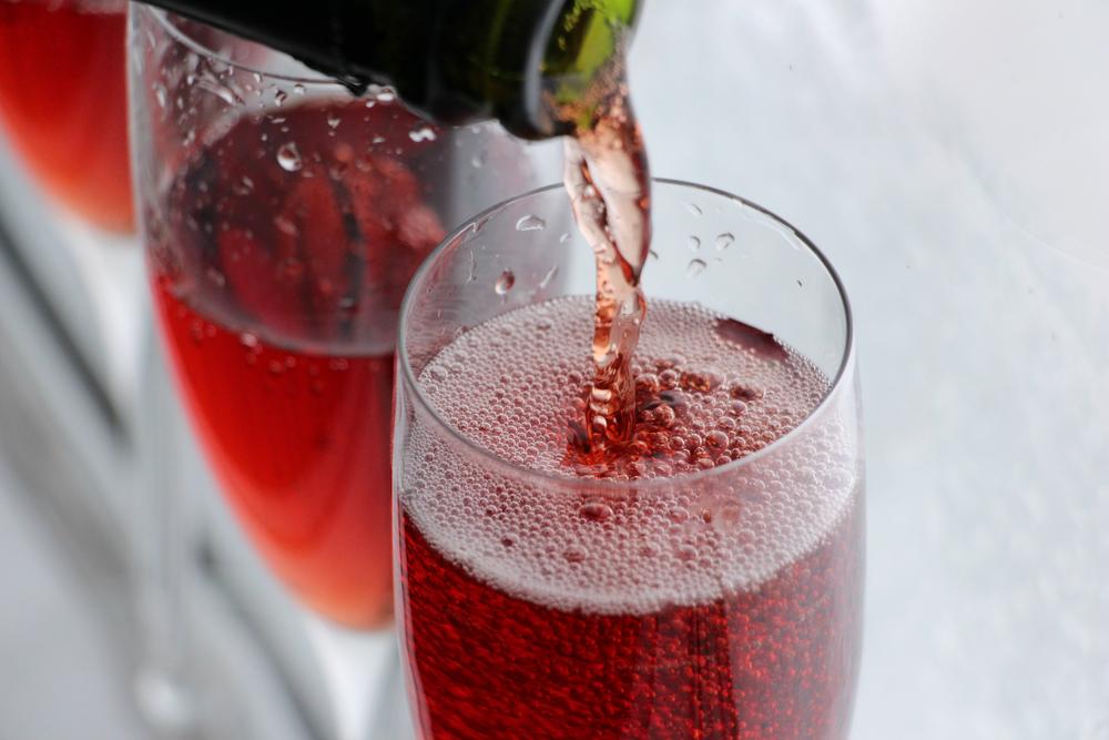 mousseux rosé pink champagne