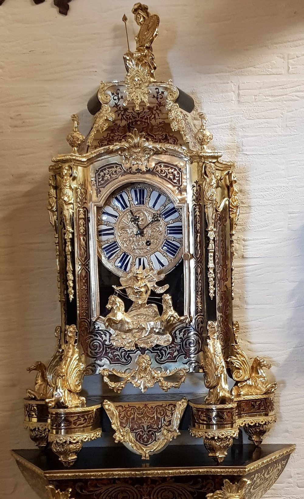 Europa_Antiques_French_Boulle_Clock